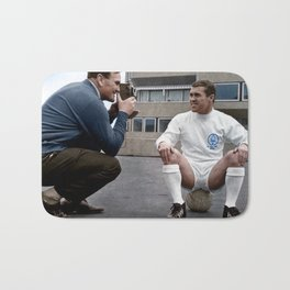Bobby Collins and Don Revie Bath Mat