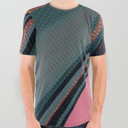 Color Wave ~030~ All Over Graphic Tee