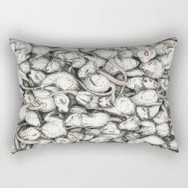 Mice Pouring Rectangular Pillow