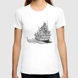 Snail Temple T-shirt