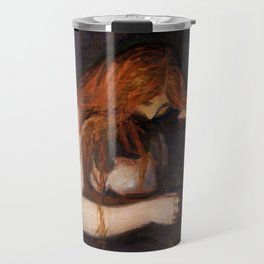 Vampire by Edvard Munch Travel Mug