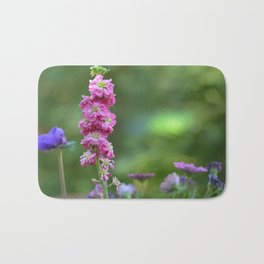Snap Dragon Flower Bath Mat
