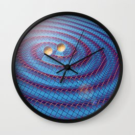 Gravity Waves Wall Clock