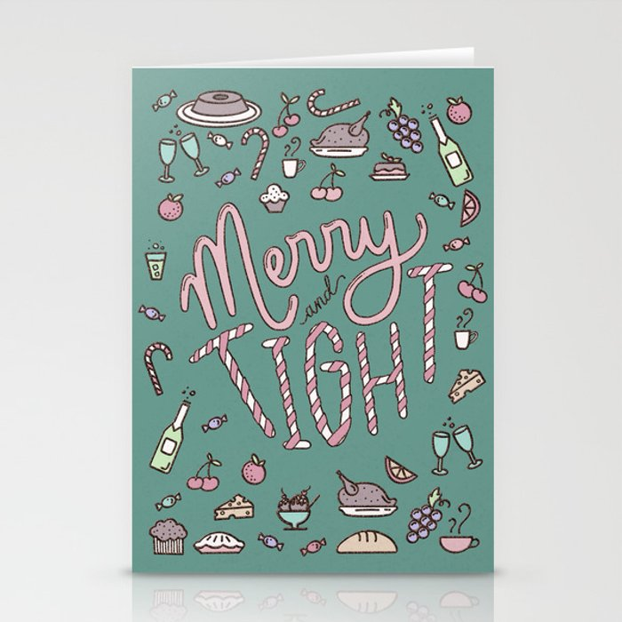 Merry & Tight Stationery Cards