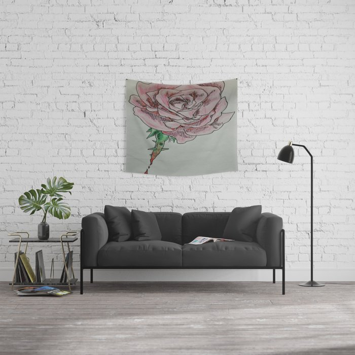 every rose has thorns 2 Wall Tapestry