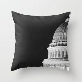 Our Capitol's Dome Throw Pillow