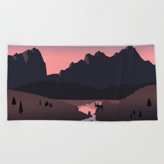 Rocky Mountain Marvelous Beach Towel