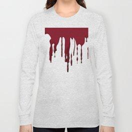 GOTH BLEEDING ART DESIGN Long Sleeve T-shirt