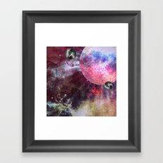 Lunar Strain Framed Art Print