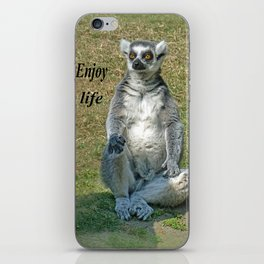 ENJOY LIFE iPhone Skin
