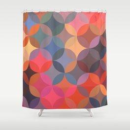 Moroccan pattern multicolor Shower Curtain