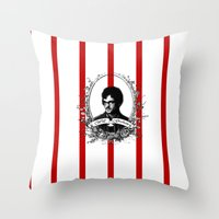 will graham Throw Pillows featuring Will Graham by JM London