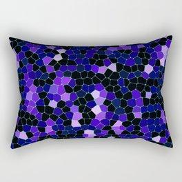 Mosaic Texture G49 Rectangular Pillow
