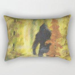 Sasquatch in Fall - aka Blob squatch Rectangular Pillow