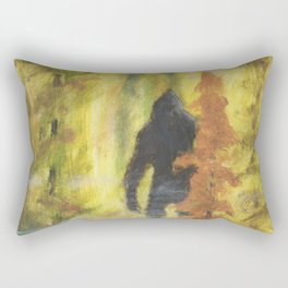 Sasquatch in Fall - aka Blob squatch Rectangular Pillow