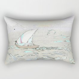 North by North Rectangular Pillow
