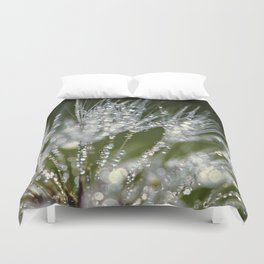holding jewels Duvet Cover