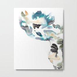 Moose I Metal Print