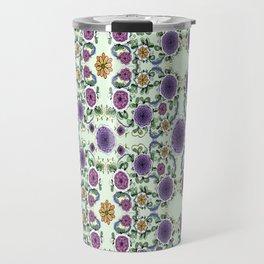 Purple Bloom Travel Mug