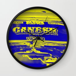 Ganesh rocks Wall Clock