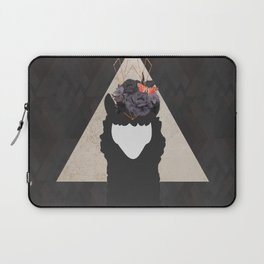 The Holy Llama Floral Geometric Laptop Sleeve
