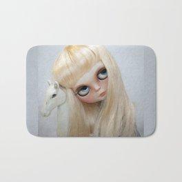 Erregiro Blythe Custom Doll, The White Horse Bath Mat