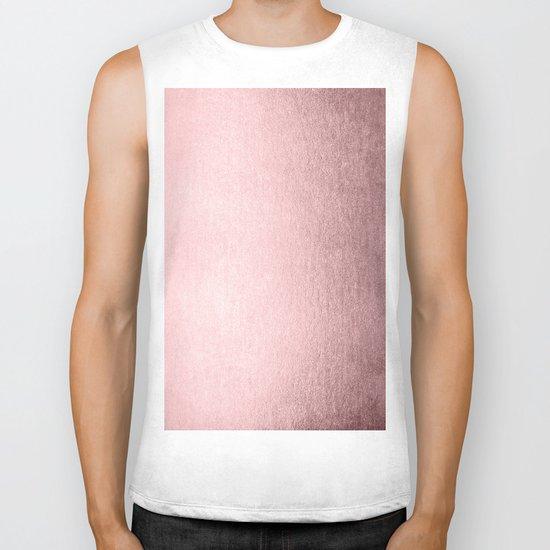 Simply Rose Quartz Elegance Biker Tank