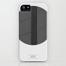 GUTTA iPhone Case