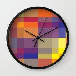 Pixel 05 Wall Clock