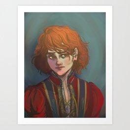 Jean Prouvaire in Doublet Art Print