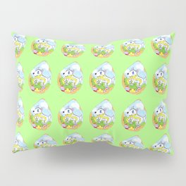 Frosty Finds Pillow Sham