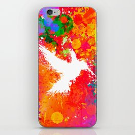 Hummingsplat - Colorless iPhone Skin