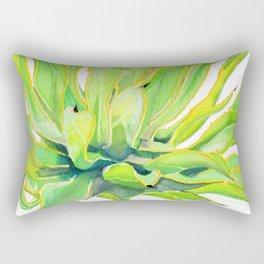 Sunlit Octopus Agave Rectangular Pillow