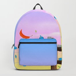 Birds on a wire Backpack