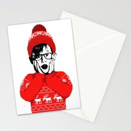 home alone Stationery Cards