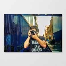 Tourist Canvas Print