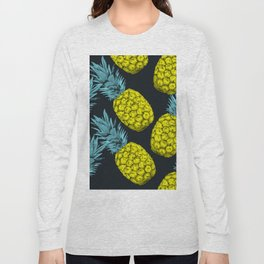 Pineapples Colors Long Sleeve T-shirt