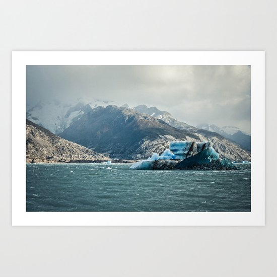 Ice Sea 4 Art Print
