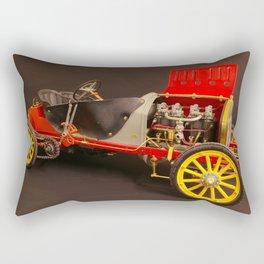 Fiat F2 Racing Car Rectangular Pillow