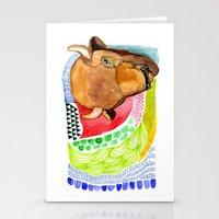 buffalo Stationery Cards featuring BUFFALO by dorc