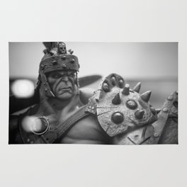 """Gladiator Hulk"" Rug"