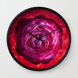 Rose 01 Wall Clock