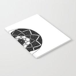 Crescent Moon Mandala Notebook