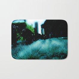 Alien Landscape - Getty Museum Gardens in Los Angeles Bath Mat