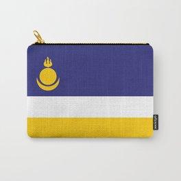 buryatia flag Carry-All Pouch