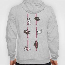 French Bulldog Pole Dancing Club Hoody
