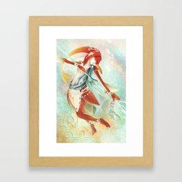 Botw: Mipha Framed Art Print