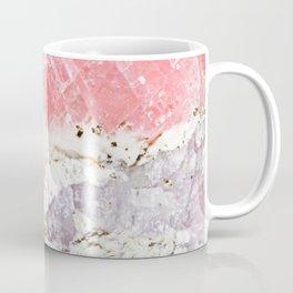 GOLD FLECKED ROSE QUARTZ Coffee Mug