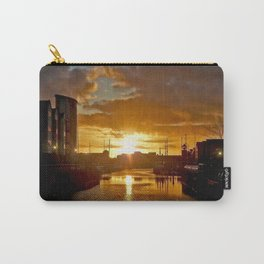 Sunset in Swansea Carry-All Pouch