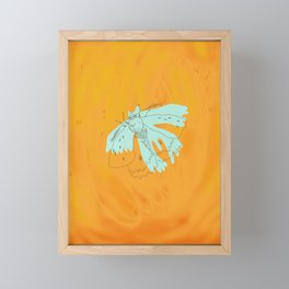 moth Framed Mini Art Print